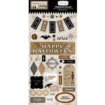 Carta Bella Paper - All Hallow's Eve Collection - Halloween - Chipboard Stickers