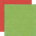 Carta Bella Paper - Alphabet Junction Collection - 12 x 12 Double Sided Paper - Leafy Green