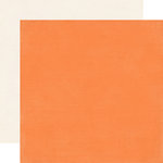 Carta Bella Paper - Alphabet Junction Collection - 12 x 12 Double Sided Paper - Nectarine