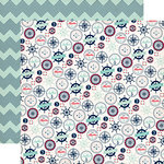 Carta Bella Paper - Ahoy There Collection - 12 x 12 Double Sided Paper - My Anchor