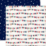 Carta Bella Paper - Ahoy There Collection - 12 x 12 Double Sided Paper - Ship Flags