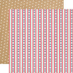 Carta Bella Paper - Ahoy There Collection - 12 x 12 Double Sided Paper - Full Steam Ahead