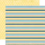 Carta Bella Paper - Beach Boardwalk Collection - 12 x 12 Double Sided Paper - Beachy Stripe