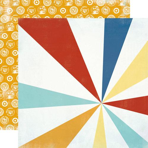 Carta Bella Paper - Beach Boardwalk Collection - 12 x 12 Double Sided Paper - Beach Ball