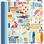 Carta Bella Paper - Beach Boardwalk Collection - 12 x 12 Cardstock Stickers - Elements