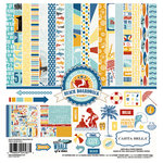 Carta Bella Paper - Beach Boardwalk Collection - 12 x 12 Collection Kit