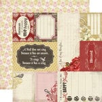 Carta Bella Paper - Beautiful Moments Collection - 12 x 12 Double Sided Paper - Thoughtful Cards