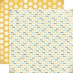 Carta Bella Paper - Boy Oh Boy Collection - 12 x 12 Double Sided Paper - Let's Go