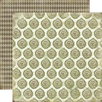 Carta Bella Paper - Christmas Day Collection - 12 x 12 Double Sided Paper - Holiday Wreaths