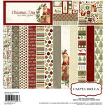 Carta Bella Paper - Christmas Day Collection - 12 x 12 Collection Kit