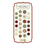 Carta Bella Paper - Christmas Day Collection - Brads
