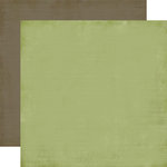 Carta Bella Paper - Christmas Day Collection - 12 x 12 Double Sided Paper - Holly Green