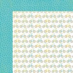 Carta Bella Paper - Cool Summer Collection - 12 x 12 Double Sided Paper - My Bicycle