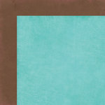 Carta Bella Paper - Cool Summer Collection - 12 x 12 Double Sided Paper - Ocean Aqua