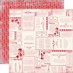 Carta Bella Paper - Devoted Collection - 12 x 12 Double Sided Paper - Affection