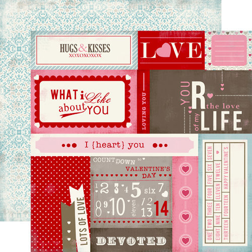 Carta Bella Paper - Devoted Collection - 12 x 12 Double Sided Paper - Countdown Cards