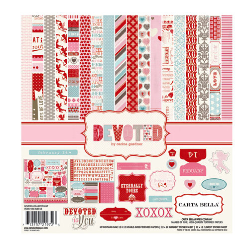 Carta Bella Paper - Devoted Collection - 12 x 12 Collection Kit