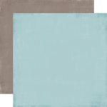 Carta Bella Paper - Devoted Collection - 12 x 12 Double Sided Paper - Bashful Blue