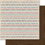 Carta Bella Paper - Samantha Walker - Giddy Up Collection - Boy - 12 x 12 Double Sided Paper - Rodeo Kid