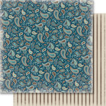 Carta Bella Paper - Samantha Walker - Giddy Up Collection - Boy - 12 x 12 Double Sided Paper - Paisley