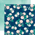 Carta Bella Paper - Hello Again Collection - 12 x 12 Double Sided Paper - Hello Floral