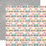 Carta Bella Paper - Hello Again Collection - 12 x 12 Double Sided Paper - Typewriters