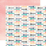Carta Bella Paper - Hello Again Collection - 12 x 12 Double Sided Paper - Take Note