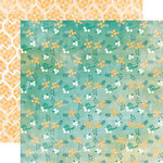 Carta Bella Paper - Hello Again Collection - 12 x 12 Double Sided Paper - Small Floral