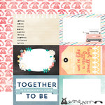 Carta Bella Paper - Hello Again Collection - 12 x 12 Double Sided Paper - Together