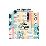 Carta Bella Paper - Hello Again Collection - 6 x 6 Paper Pad