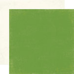 Carta Bella Paper - Merry and Bright Collection - Christmas - 12 x 12 Double Sided Paper - Aspen Green