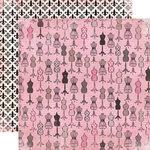 Carta Bella Paper - Paris Girl Collection - 12 x 12 Double Sided Paper - Ooh La La!