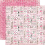 Carta Bella Paper - Paris Girl Collection - 12 x 12 Double Sided Paper - Le Grande Tour