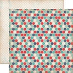 Carta Bella Paper - Rough and Tumble Collection - 12 x 12 Double Sided Paper - Daring Dots