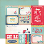 Carta Bella Paper - Rough and Tumble Collection - 12 x 12 Double Sided Paper - Journaling Cards