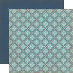 Carta Bella Paper - Rough and Tumble Collection - 12 x 12 Double Sided Paper - Playful Plaid