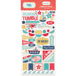 Carta Bella Paper - Rough and Tumble Collection - Chipboard Stickers