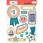 Carta Bella Paper - Rough and Tumble Collection - Layered Cardstock Stickers