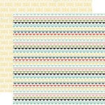 Carta Bella Paper - So Noted Collection - 12 x 12 Double Sided Paper - Tiny Lace