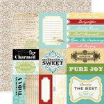 Carta Bella Paper - So Noted Collection - 12 x 12 Double Sided Paper - Note Cards
