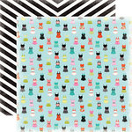 Carta Bella Paper - Summer Lovin Collection - 12 x 12 Double Sided Paper - Swimsuits