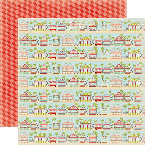 Carta Bella Paper - Summer Lovin Collection - 12 x 12 Double Sided Paper - Boardwalk