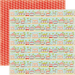 Carta Bella Paper - Summer Lovin Collection - 12 x 12 Double Sided Paper - Boardwalk