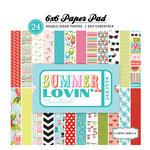 Carta Bella Paper - Summer Lovin Collection - 6 x 6 Paper Pad