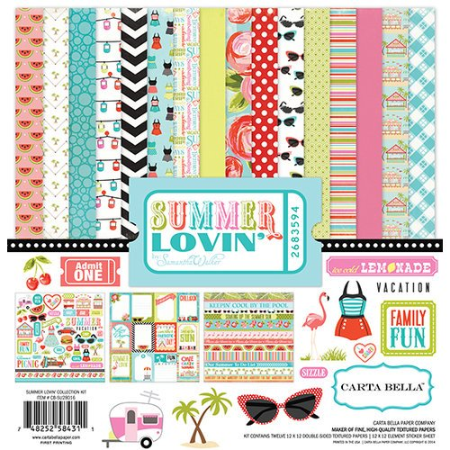 Carta Bella Paper - Summer Lovin Collection - 12 x 12 Collection Kit