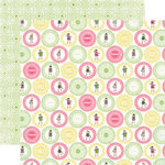 Carta Bella Paper - True Friends Collection - 12 x 12 Double Sided Paper - School Girl