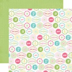 Carta Bella Paper - True Friends Collection - 12 x 12 Double Sided Paper - Little Girl