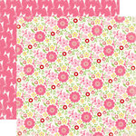 Carta Bella Paper - True Friends Collection - 12 x 12 Double Sided Paper - Floral