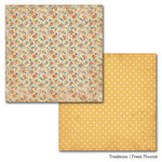 Carta Bella Paper - Traditions Collection - 12 x 12 Double Sided Paper - Fresh Flourish