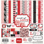 Carta Bella Paper - Words of Love Collection - 12 x 12 Collection Kit